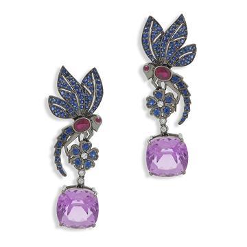 Фото: Антикварные ювелирные украшения с бриллиантами